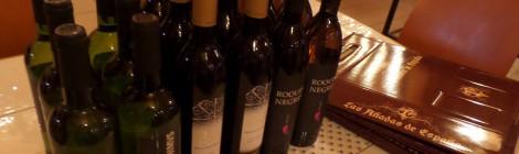 seis lotes de vino castellonenses para la pujá a Santa Lucía